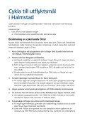 Cykla till utflyktsmål - Halmstad - Page 3