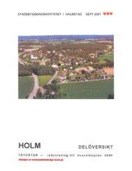 Holm - Halmstad