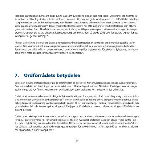 Teoretisk bakgrund till Rutin för elevers språk-, läs - Halmstad