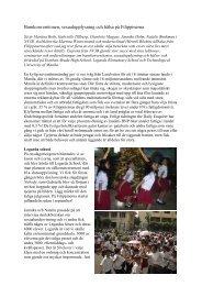 Barnkonventionen, sexualupplysning och hälsa på ... - Halmstad