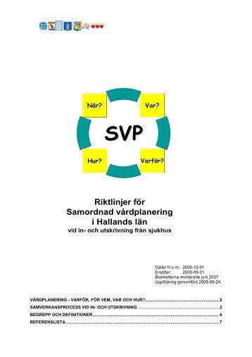 SVP - Halmstad