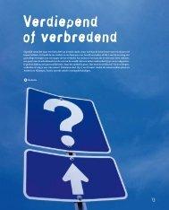 Verdiepend of verbredend - Hogeschool van Arnhem en Nijmegen