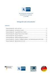 virksomhedsprofil - Deutsch-Dänische Handelskammer