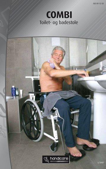 Combi Bad & toiletstol - Handicare.dk