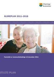 ÄLDREPLAN 2011–2018 - Haninge