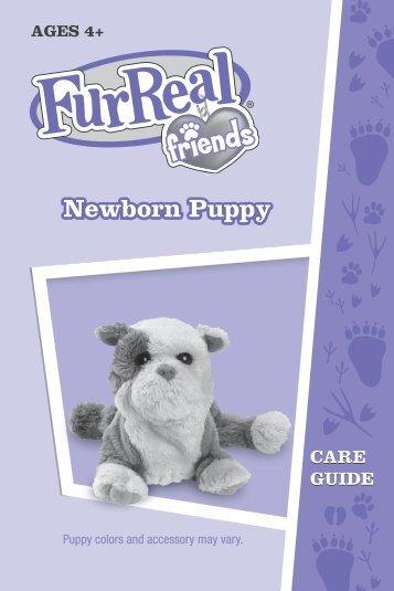 FurReal Friends Newborn Puppy Instructions - Hasbro