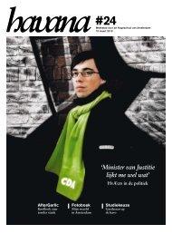'Minister van Justitie lijkt me wel wat' - Folia Web