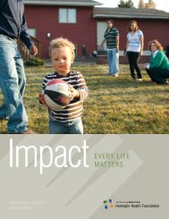 impactEvEry LifE MattErs - Hennepin County Medical Center