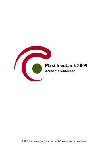 2009 - FOD Volksgezondheid, Veiligheid van de Voedselketen en ...