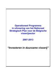 """""""Investeren in duurzame visserij"""" - FOD Volksgezondheid, Veiligheid ..."""