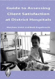 Client Guide - Health Systems Trust
