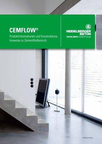 CemFlow Produktinformationen und Konstruktionshinweise zu ...
