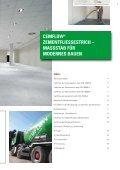 CemFlow Produktinformationen und Konstruktionshinweise zu ... - Seite 3