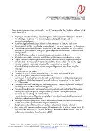Den nya regeringens program publicerades i april ... - Helsinki.fi