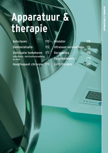 Apparatuur & therapie - Henry Schein