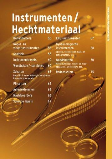 Instrumenten / Hechtmateriaal - Henry Schein