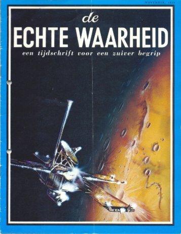 Echte Waarheid 1969 (No 11) Nov - Herbert W. Armstrong Library ...