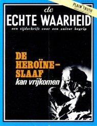 Echte Waarheid 1972 (No 04) Apr-Mei - Herbert W. Armstrong ...