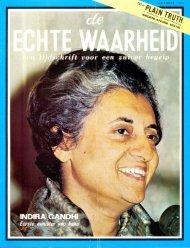 Echte Waarheid 1971 (No 10) Okt - Herbert W. Armstrong Library ...