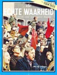 Echte Waarheid 1970 (No 1011) Okt-Nov - Herbert W. Armstrong ...