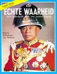 Echte Waarheid 1973 (No 06) Jun - Herbert W. Armstrong Library ...