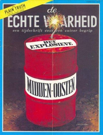 Echte Waarheid 1974 (No 02) Feb - Herbert W. Armstrong Library ...