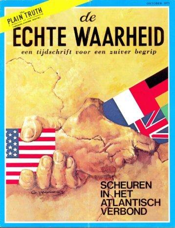 Echte Waarheid 1973 (No 09) Okt - Herbert W. Armstrong Library ...