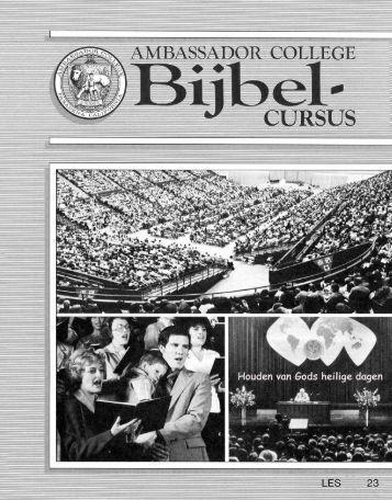 AC Bijbel Cursus Les 23
