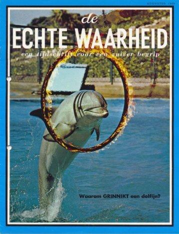 Echte Waarheid 1969 (No 08) Aug - Herbert W. Armstrong Library ...