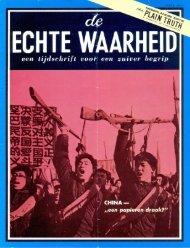 Echte Waarheid 1971 (No 04) Apr - Herbert W. Armstrong Library ...