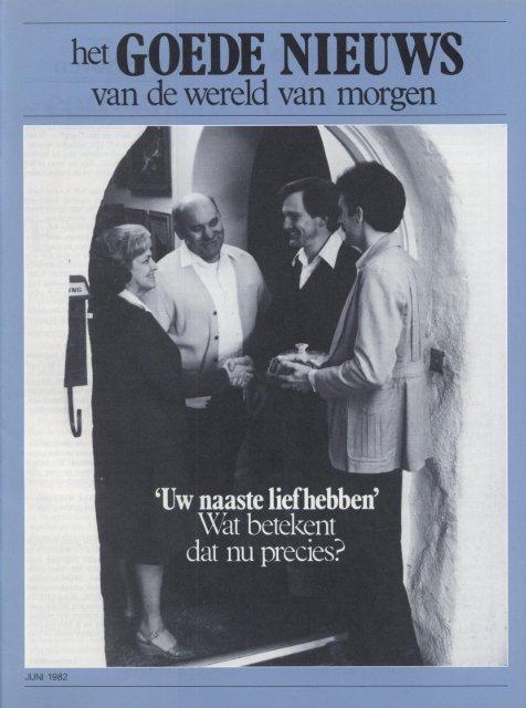 Goede Nieuws 1982 (Prelim No 05) Jun - Herbert W. Armstrong ...