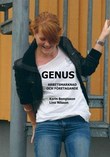 ARBETSMARKNAD OCH FÖRETAGANDE Karin Bengtsson Lina ...