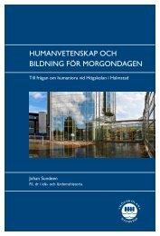 Humanvetenskap och bildning för morgondagen.pdf - Högskolan i ...