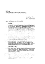 BIJLAGE B - Nadere toelichting first mover vergoedingen - Delfland