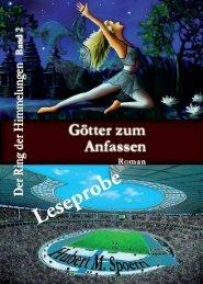 Leseprobe Götter zum Anfassen - Hierophant-Verlag