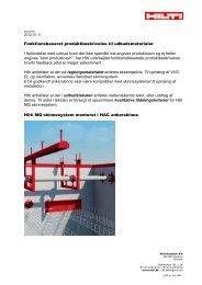 Adobe Acrobat fil 0.12 MB dansk - Hilti Danmark A/S