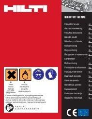 Hilti HIT-HY 150 MAX - Hilti Danmark A/S