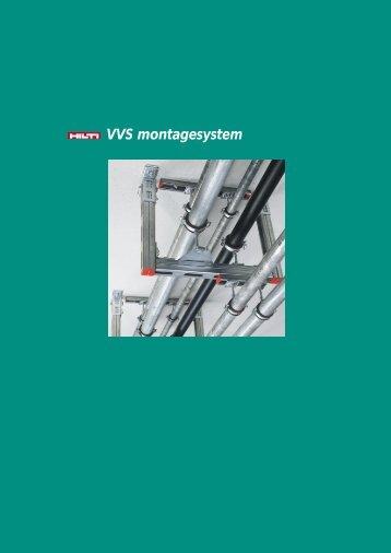 VVS montagesystem - Hilti Danmark A/S