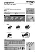 VVS montagesystem - Hilti Danmark A/S - Page 6