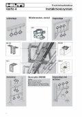 VVS montagesystem - Hilti Danmark A/S - Page 7