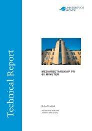 Medarbetarskap på 60 minuter - Högskolan i Skövde