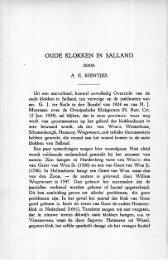 Oude klokken in Salland - Historisch Centrum Overijssel