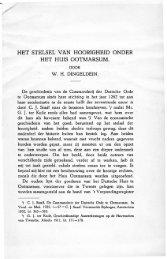 Het stelsel van hoorigheid onder het huis Ootmarsum - Historisch ...