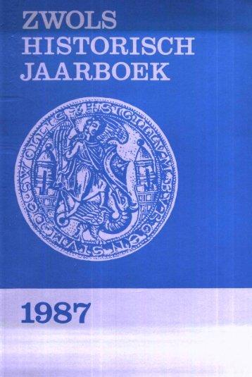 1987 JAARBOEK - Historisch Centrum Overijssel
