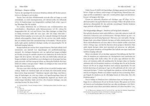 Att välja sin fiende–Allmogens konflikter och allianser i riksdagen ...