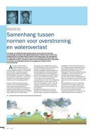 Samenhang tussen normen voor overstroming ... - HKV - lijn in water