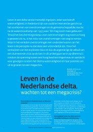 Leven in de Nederlandse delta, wachten tot een - HKV - lijn in water