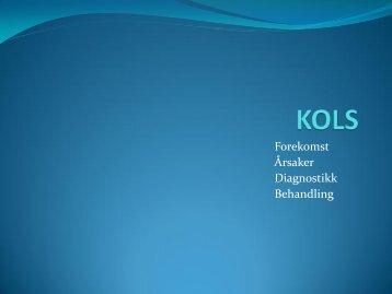 Forekomst Årsaker Diagnostikk Behandling