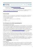 Utlysning midler til doktorgradsstipend, postdoktorstipend ... - Page 2