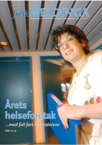 Nr 1 2003 - Helse Nord-Trøndelag HF